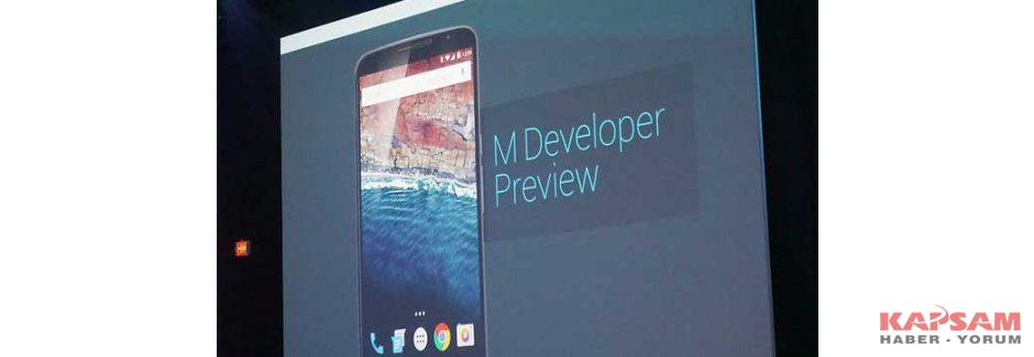 Google, 'Android M' ve 'Android Pay'i duyurdu