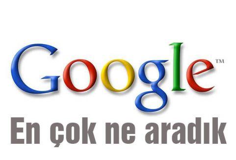 Google'da ne aradık?