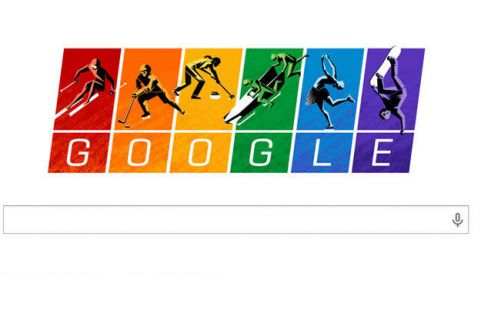 Google'dan olimpiyatlara özel logo...