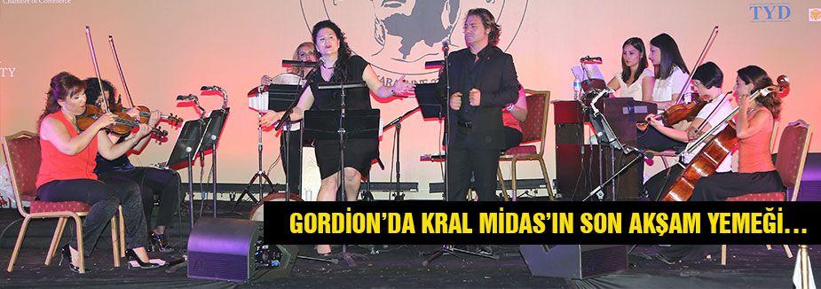 GORDİON'DA KRAL MİDAS'IN SON AKŞAM YEMEĞİ…