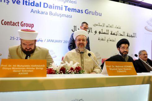 Görmez'den gençlere: Sizler örnekliği bizde değil, İslam Peygamberi'nde arayın