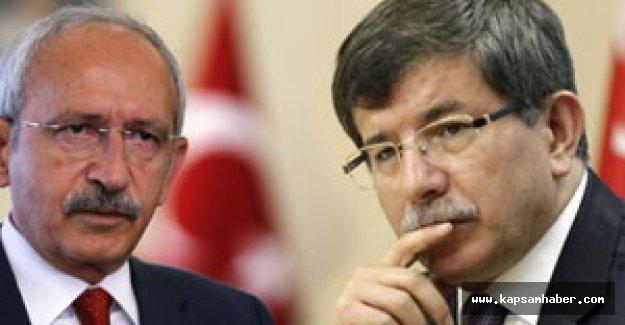 Davutoğlu: Görüşmeye Kılıçdaroğlu'ndan başlayacak