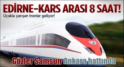 Gözler Ankara Samsun Hattında