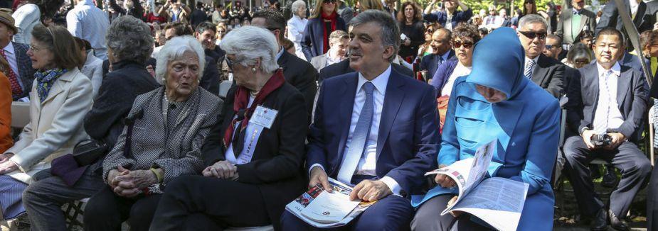 Gül oğlunun mezuniyet törenine katıldı
