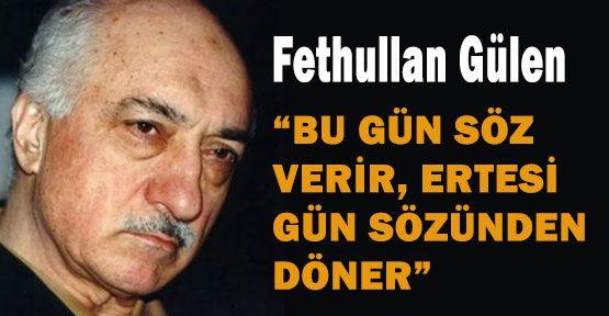 Gülen'den Gezi Park Uyarısı!