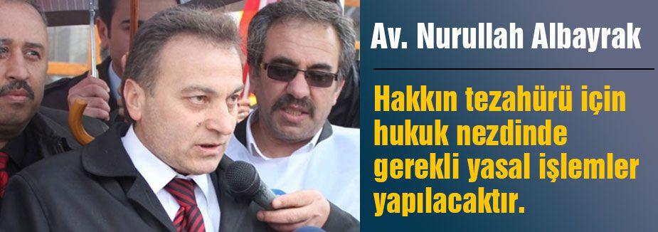 Gülen'in Avukatı Albayrak'tan açıklama