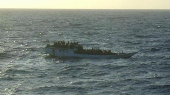 Güney Sudan'da tekne battı...
