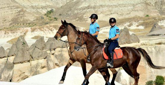 Güvenlik atlı jandarmaya emanet...