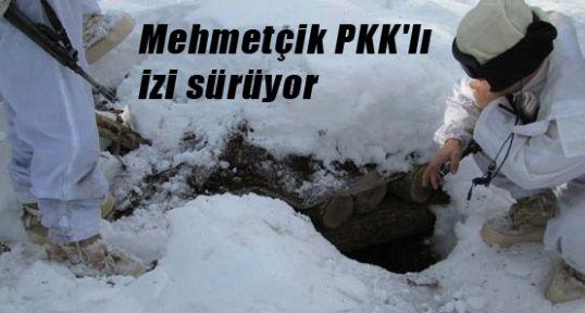 güvenlik güçleri PKK'lı izi sürüyor