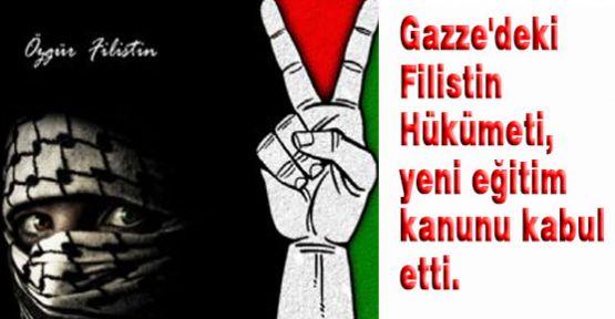 Gazze'de Bu  İlk...
