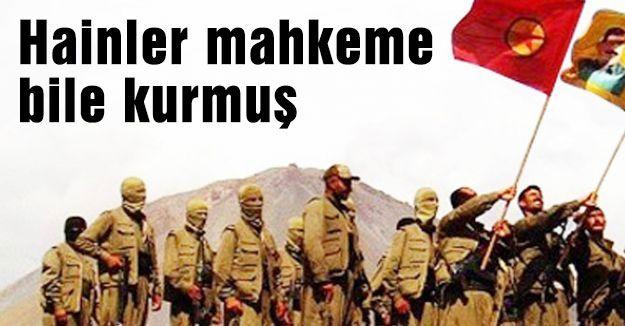Hain PKK Mahkeme Kurmuş...