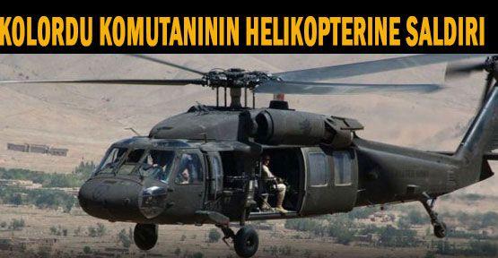 Hakkari'de Helikoptere Hain Saldırı