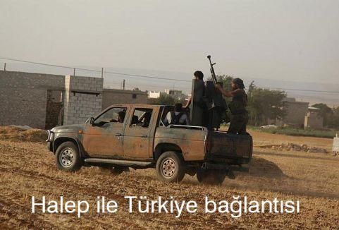 Halep ile Türkiye bağlantısı