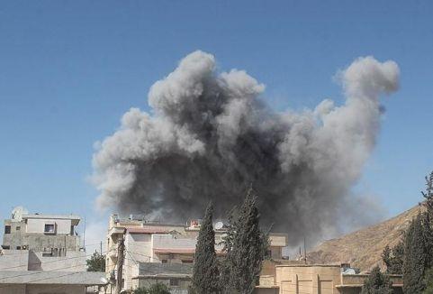 Halep'te bombalı saldırı...