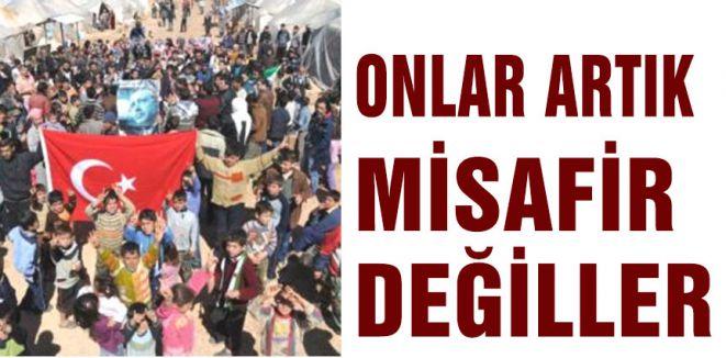 Hani Suriyeliler Misafirdi?