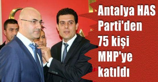 Has Parti'den MHP'ye Katılım