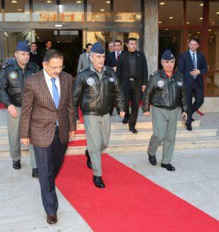 Hava Kuvvetleri Komutanı Öztürk Kayseri'de