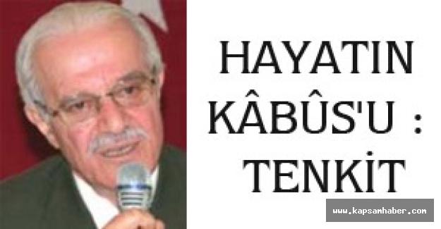 HAYATIN KÂBÛS'U:TENKİT