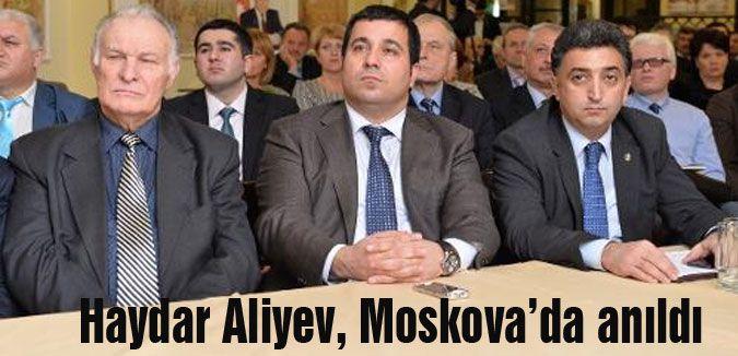 Haydar Aliyev anıldı