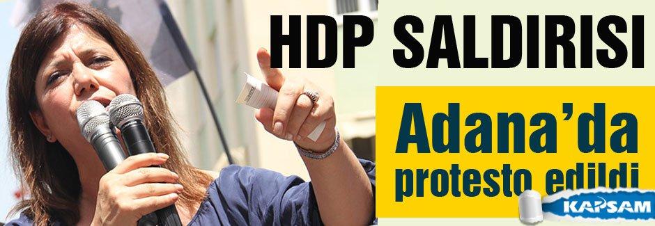 HDP bombalı saldırıları protesto etti