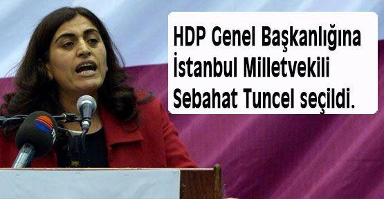HDP Genel Başkanlığına Sebahat Tuncel seçildi