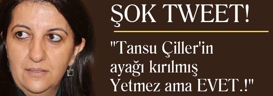 HDP'li Buldan'dan Çiller için eğır ifade