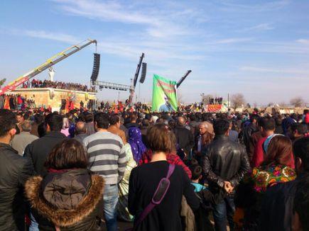 HDP'liler kutlama için sınıra akın ediyor
