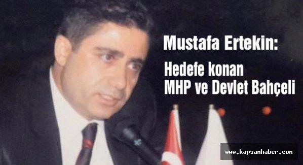Hedefe konan MHP ve Bahçeli...
