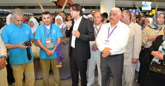 Hollanda Türk Federasyon hacılarını uğurladı