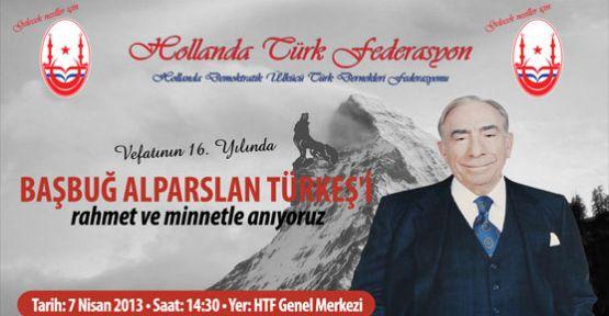 Hollanda Türk Federasyon tarafından anma programı