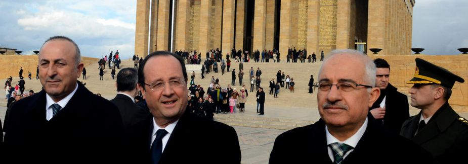 Hollande Anıtkabir'de...