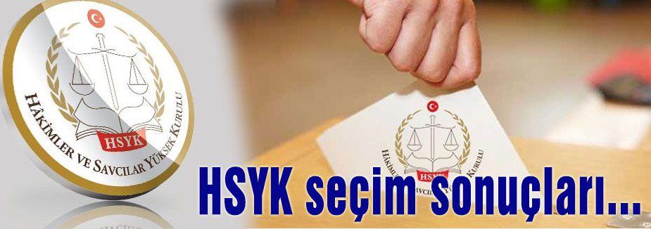 HSYK seçim sonuçları...