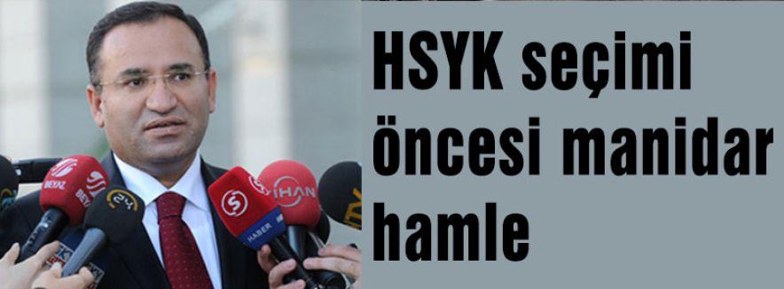 HSYK seçimi öncesi manidar hamle