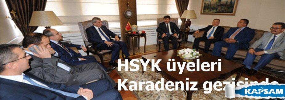 HSYK üyeleri Karadeniz gezisinde