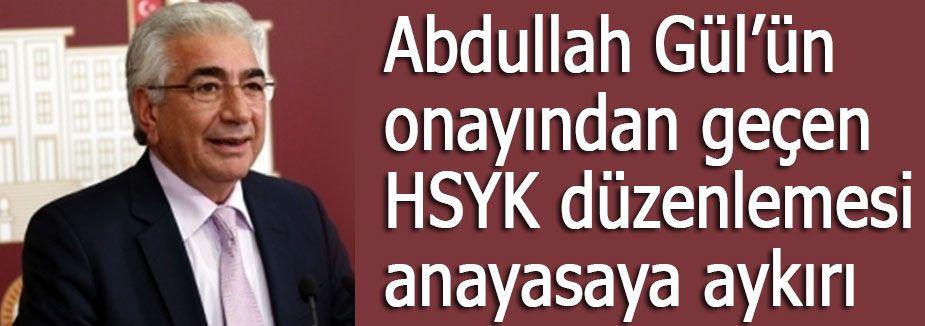 MHP'li Bal: HSYK'nın başına AKP şapkası geçirildi