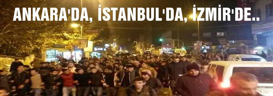 'hükümet istifa' protestoları yayılıyor