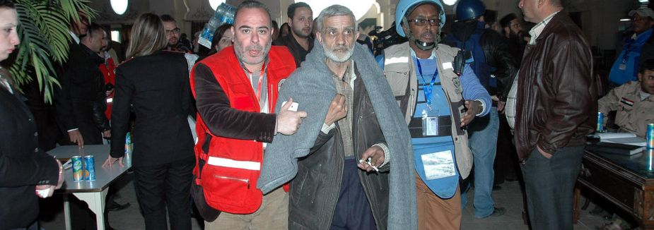 Humus'tan 968 kişi tahliye edildi