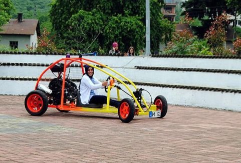 Hurdadan mini off-road aracı ürettiler