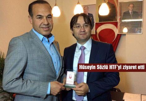 Hüseyin Sözlü HTF'yi ziyaret etti