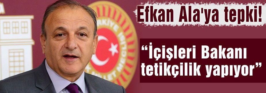 """MHP'li Vural: """"İçişleri Bakanı tetikçilik yapıyor"""""""