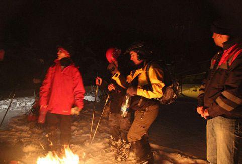 Ilgaz'da kaybolan dağcılar bulundu