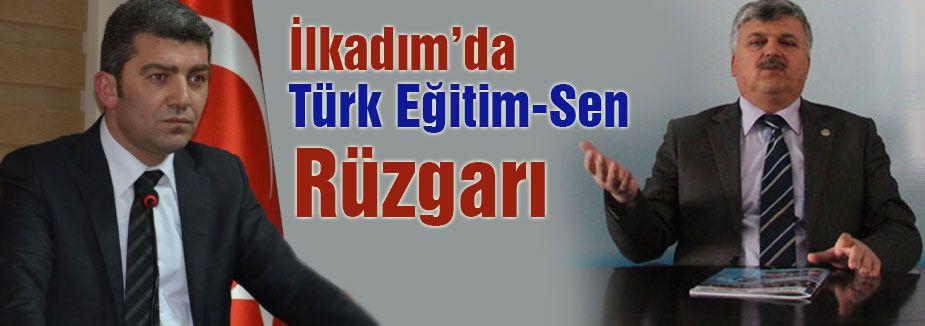 İlkadım'da Türk Eğitim-Sen Rüzgarı