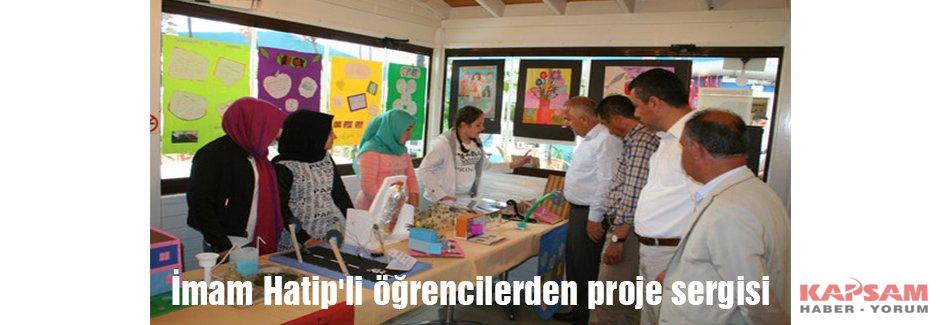 İmam Hatip'li öğrencilerden proje sergisi