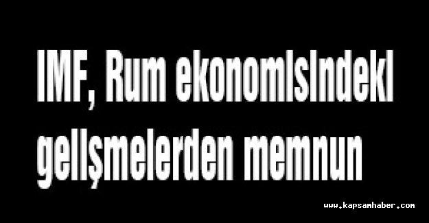 IMF, Rum ekonomisindeki gelişmelerden memnun