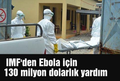 IMF'den Ebola için yardım