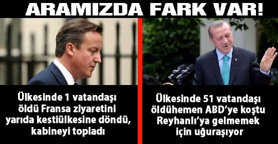 İngiltere ve Türkiye Başbakanı arasındaki fark