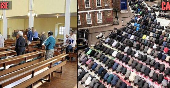 İngiltere'de İslam Hızla Yayılıyor