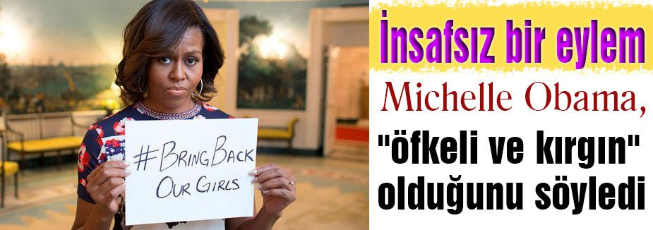 michelle obama: 'İnsafsız bir eylem'