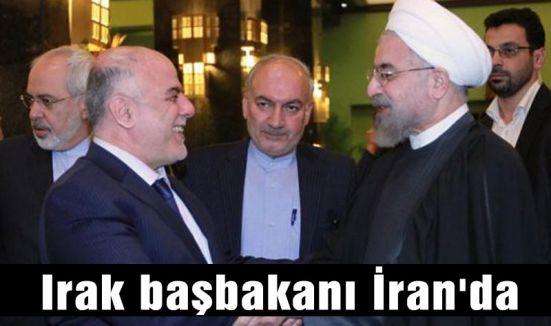 Irak başbakanı İran'da