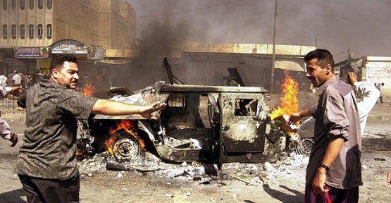 Irak'ta bombalı saldırı: 17 ölü